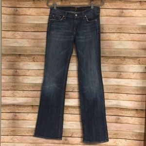 Size 28-7 For All Mankind Bootcut Jeans